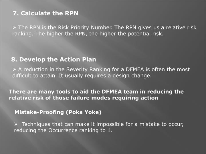 7. Calculate the RPN