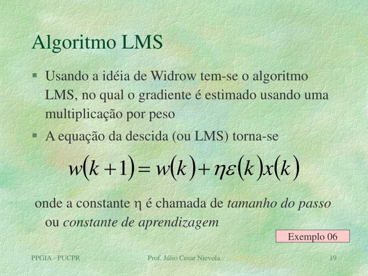 Algoritmo LMS