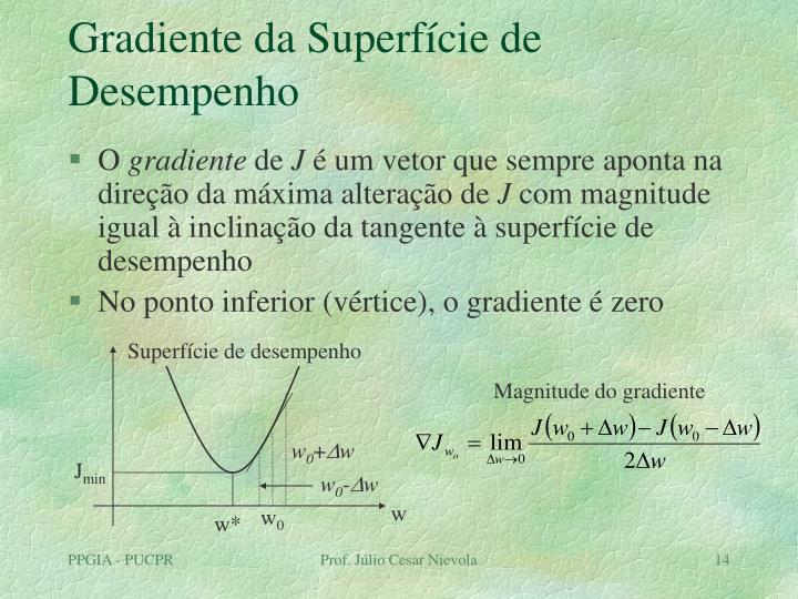 Superfície de desempenho