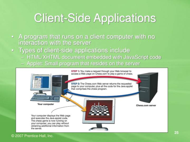 Client-Side Applications