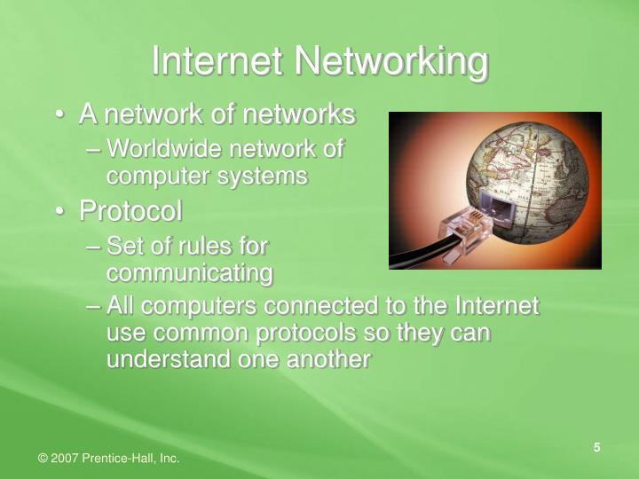 Internet Networking