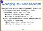 managing files basic concepts3
