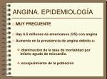 angina epidemiolog a