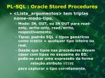pl sql oracle stored procedures1