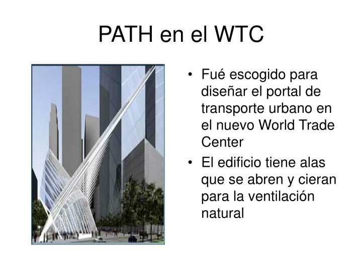 PATH en el WTC