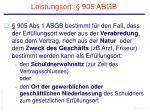 leistungsort 905 abgb