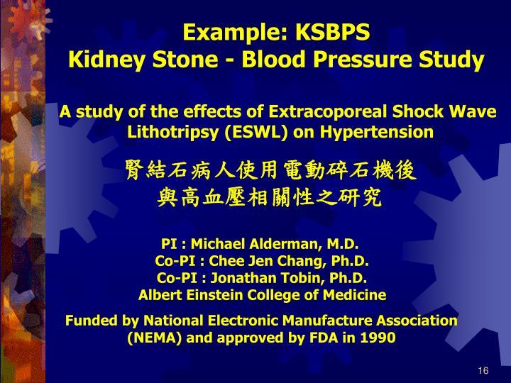 Example: KSBPS
