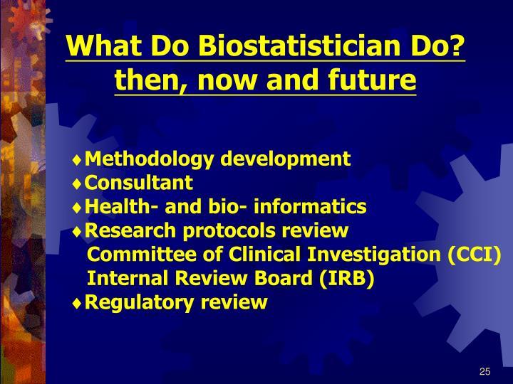 What Do Biostatistician Do?