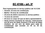 ec 47 05 art 3