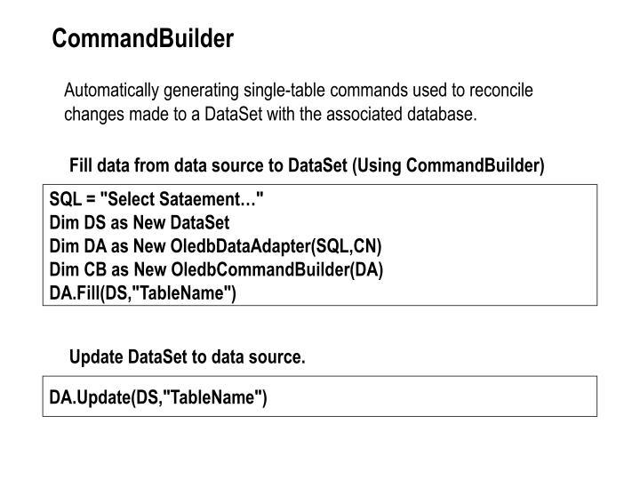 CommandBuilder
