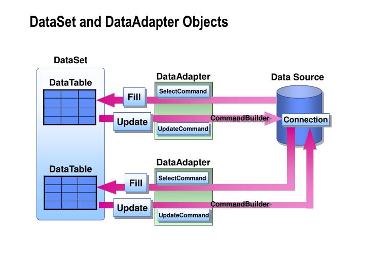 DataSet and DataAdapter Objects