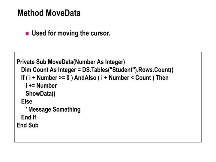 Method MoveData