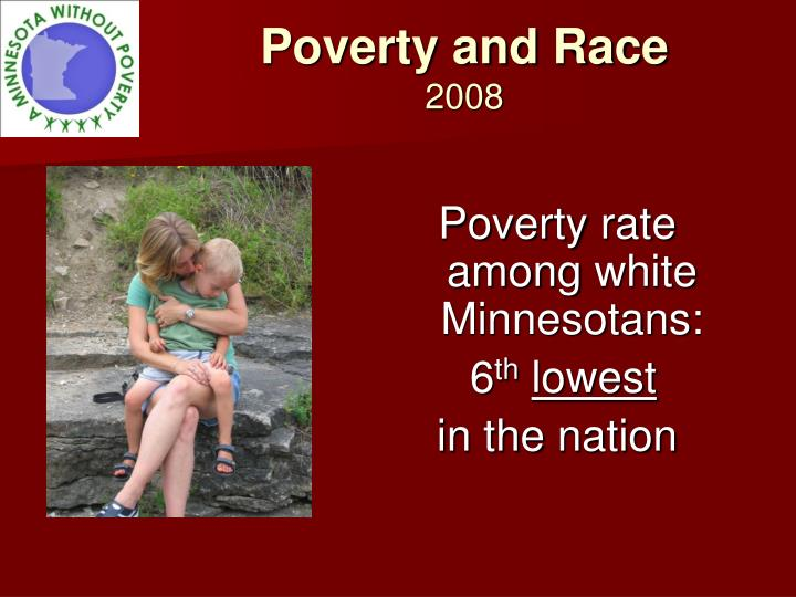 Poverty and Race