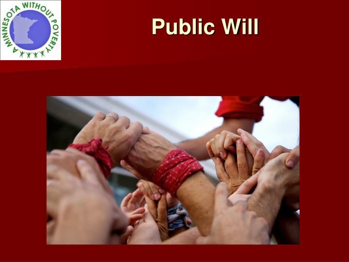 Public Will