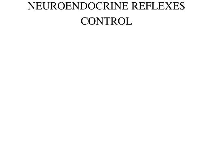 NEUROENDOCRINE REFLEXES CONTROL