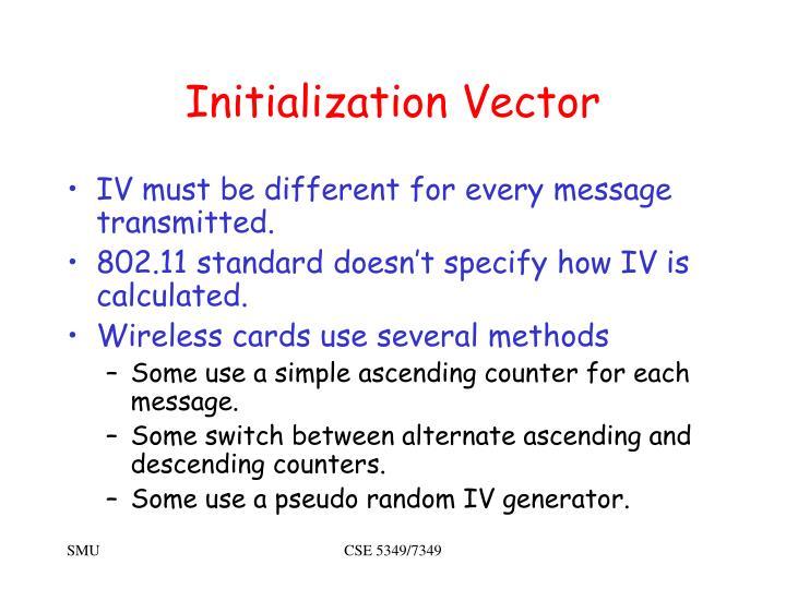 Initialization Vector