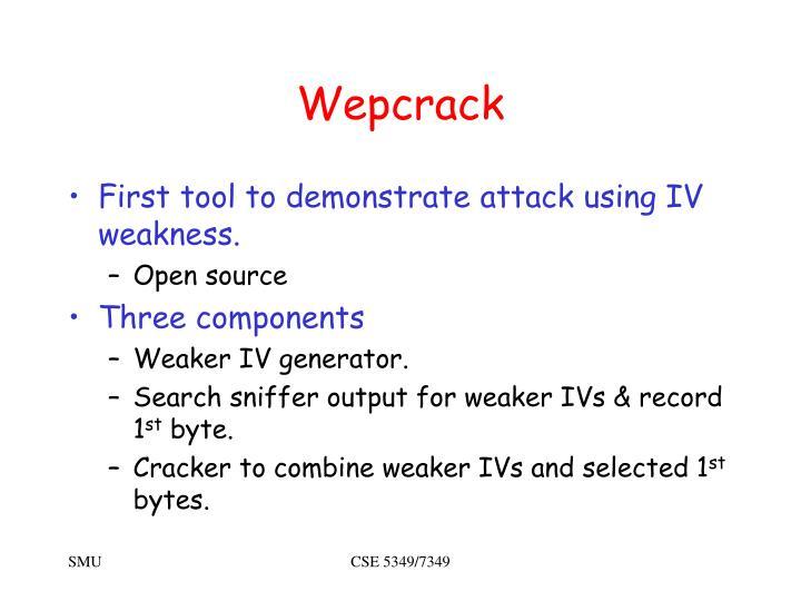 Wepcrack