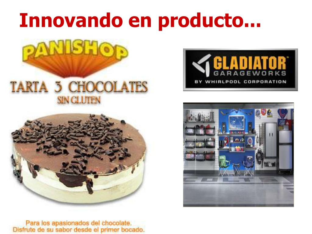 Innovando en producto...