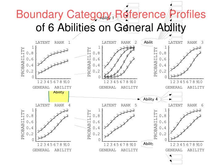 Boundary Category Reference Profiles