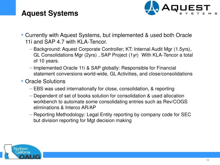 Aquest Systems