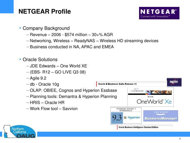 NETGEAR Profile