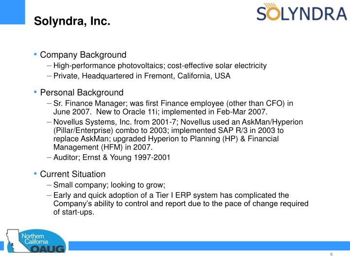 Solyndra, Inc.