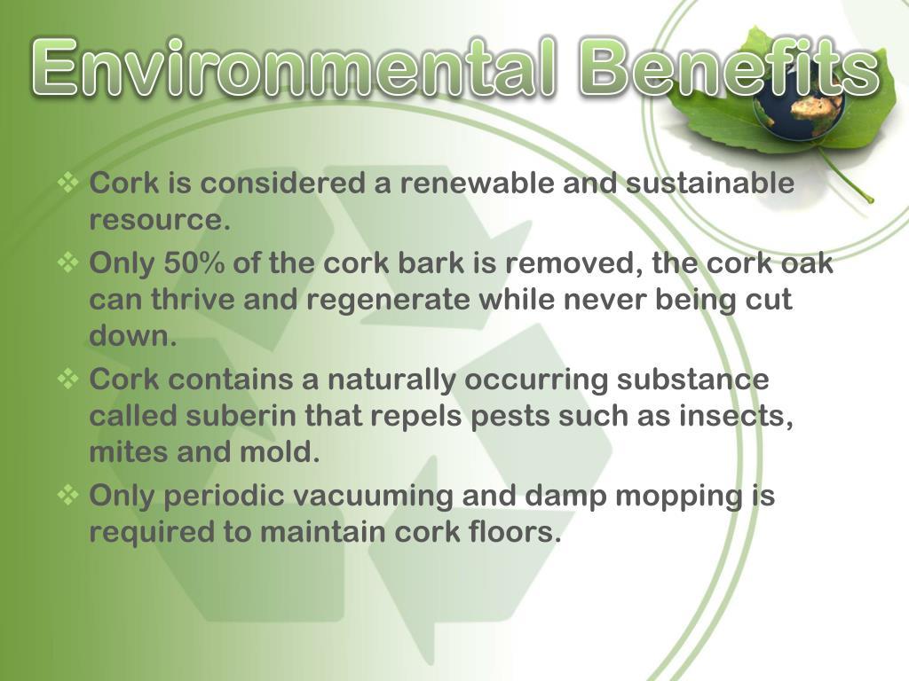 Environmental Benefits