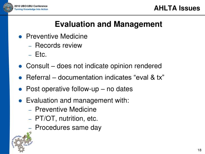AHLTA Issues