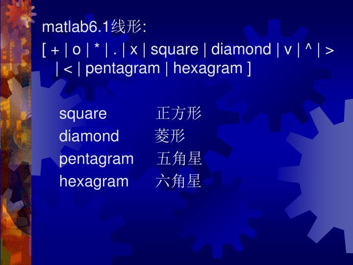 matlab6.1