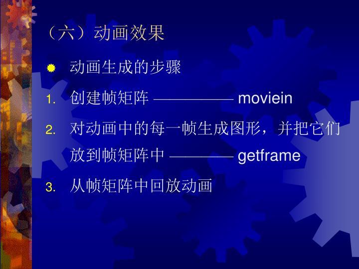 (六)动画效果