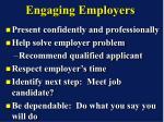 engaging employers