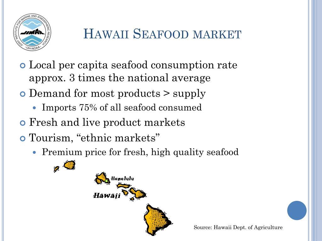 Hawaii Seafood market