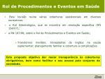 rol de procedimentos e eventos em sa de1