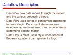 dataflow description