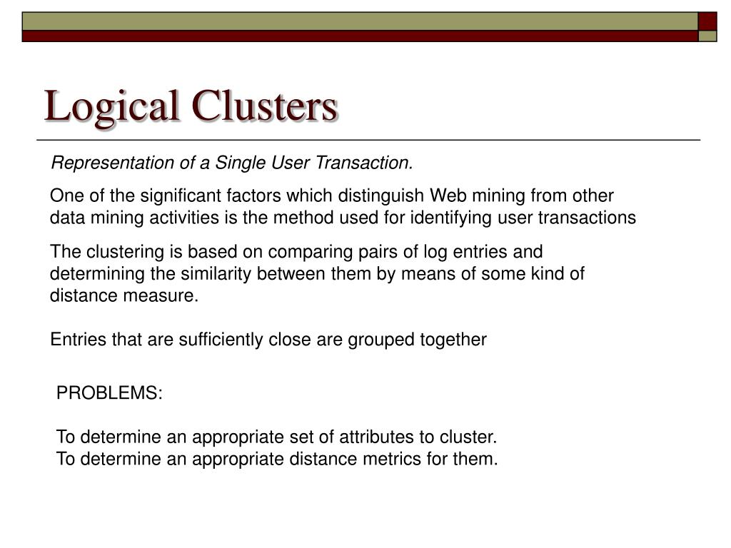Logical Clusters