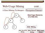web usage mining cont20