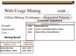 web usage mining cont23