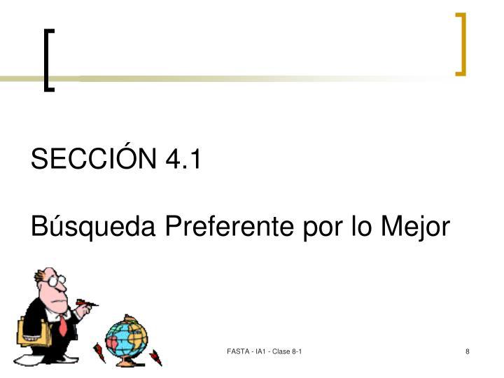 SECCIÓN 4.1