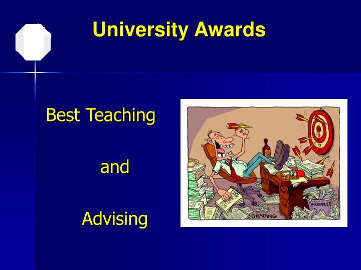 University Awards