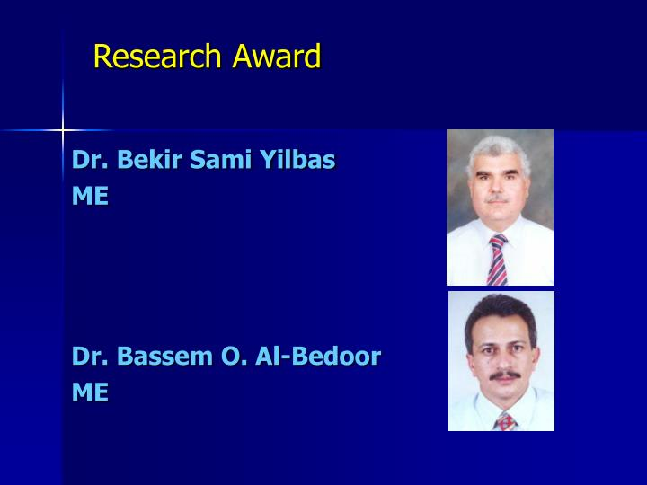 Research Award
