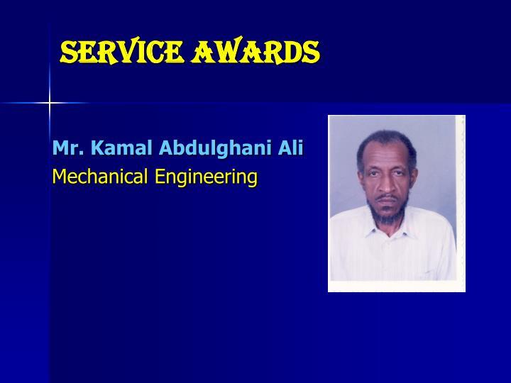 Service Awards