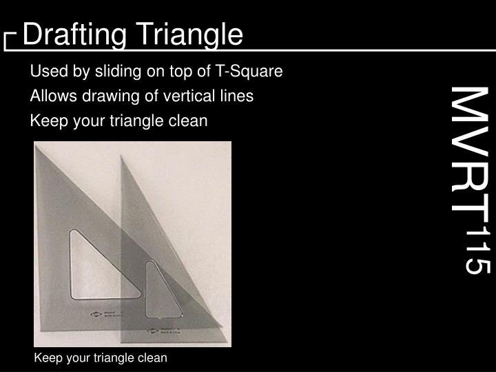 Drafting Triangle