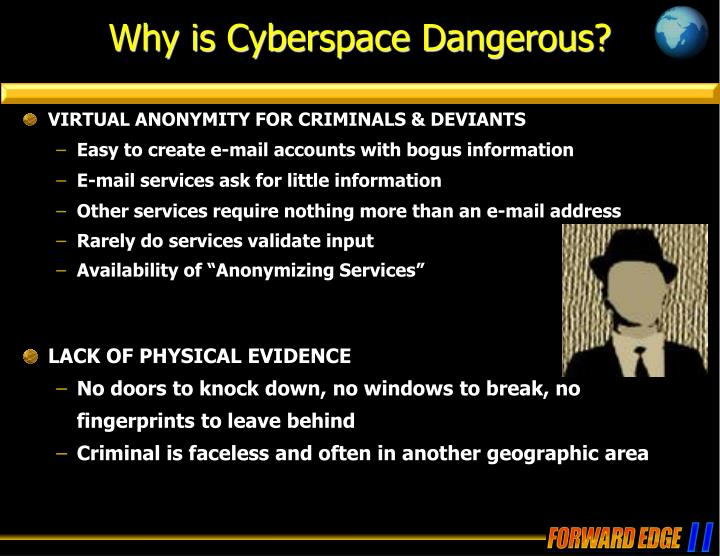 Why is Cyberspace Dangerous?