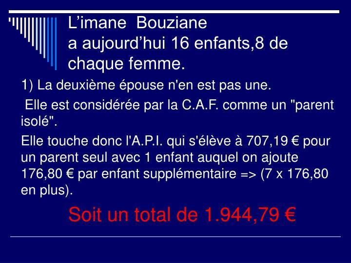 L'imane  Bouziane