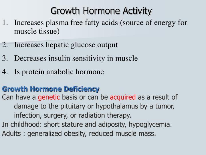 Growth Hormone Activity