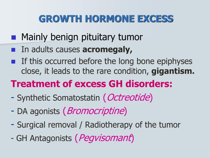 GROWTH HORMONE EXCESS