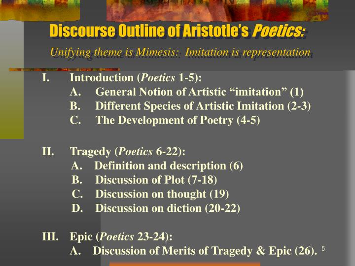 Discourse Outline of Aristotle's