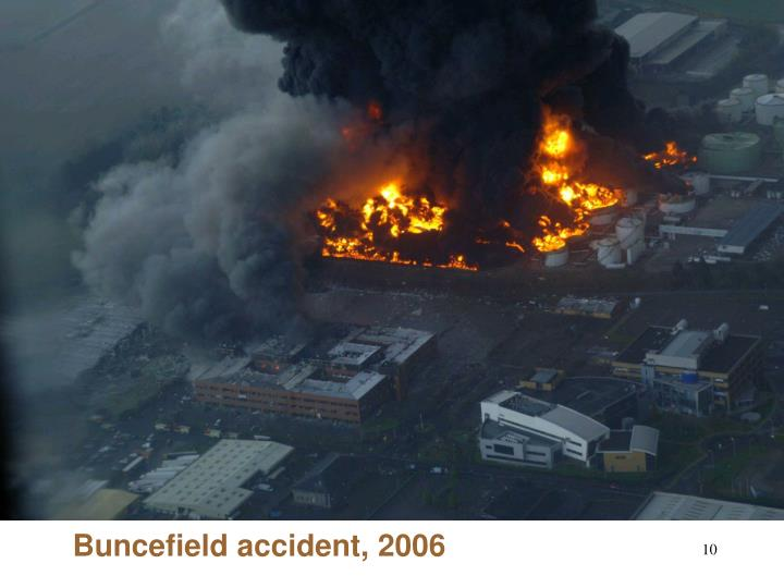 Buncefield accident, 2006