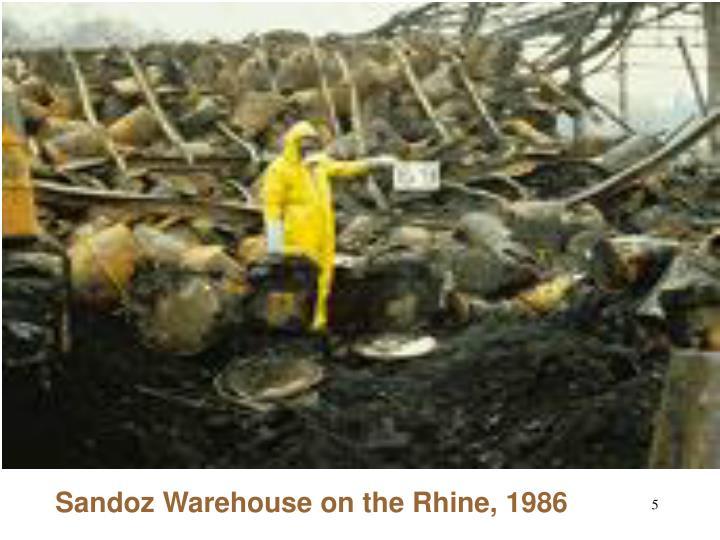 Sandoz Warehouse on the Rhine, 1986