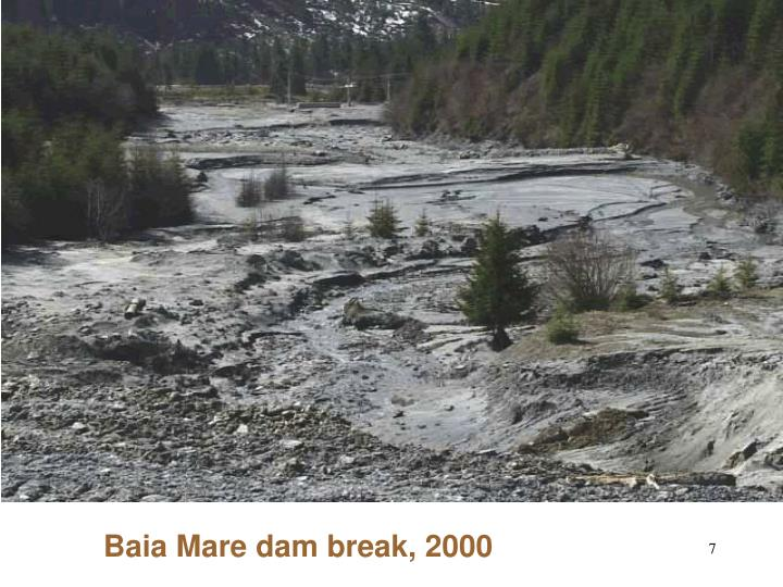 Baia Mare dam break, 2000